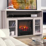 Seatonville TV Stand for TVs up to 50 with Electric Fireplace Included by Gracie Oaks