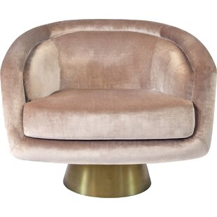 Jonathan Adler Bacharach Swivel Barrel Chair