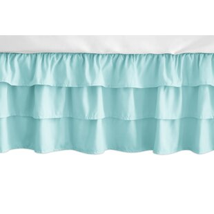 Feather Solid 3-Tiered Crib Skirt BySweet Jojo Designs