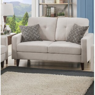 Best #1 Curran Loveseat Brayden Studio