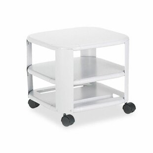 Three-Shelf Mobile Printer Stand