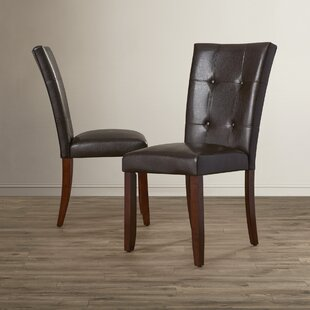 Walworth Parsons Upholstered Dining Chair (Set of 2) Beachcrest Home
