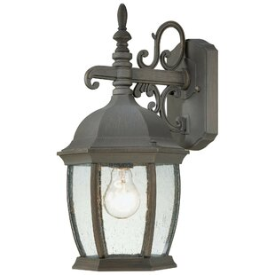 Best Review Covington 1-Light Outdoor Wall Lantern By Thomas Lighting
