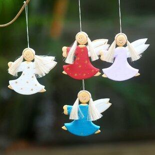 Purple Wood Christmas Ornaments You Ll Love In 2021 Wayfair