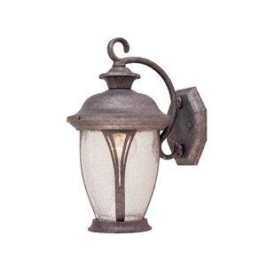 Kratzer 1-Light Outdoor Wall lantern by Charlton Home