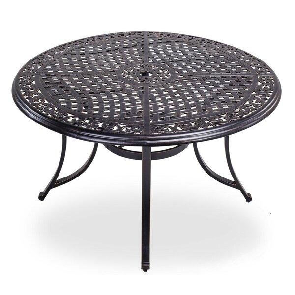 Aluminum Outdoor Dining Table Wayfair