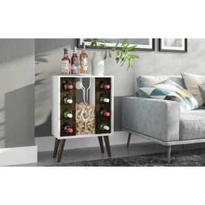 Kory 8 Bottle Floor Wine Cabinet and Display by Corrigan Studio