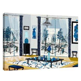 Tapis Salon Bleu | Wayfair