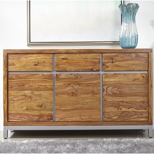 Cullen 3 Door 3 Drawer Media Credenza by Foundry Select