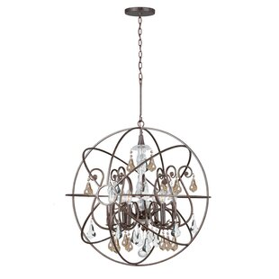 Jitu 6-Light Crystal Chandelier by Willa ..