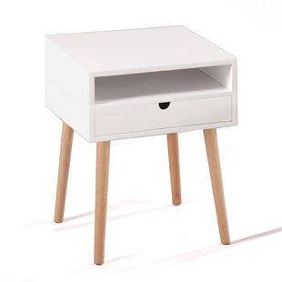 Irven 1 Drawer Bedside Table By Fjørde & Co