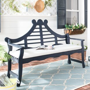 Cullins Solid Wood Garden Bench