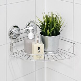 Candl 26.5cm X 24.5cm Bathroom Shelf By Spiderloc