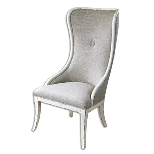 Auserine Aged Wing back Chair by Laurel Foundry Modern Farmhouse