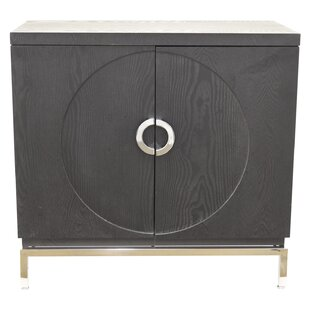 Great Price Mcginty Wood 2 Door Accent Cabinet ByIvy Bronx