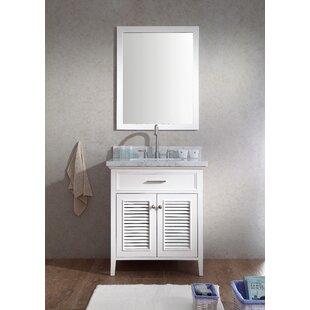 Hamil 31 Single Bathroom Vanity Set with Mirror by Highland Dunes