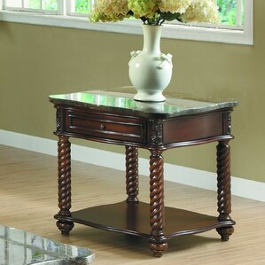 Antoine End Table by Astoria Grand