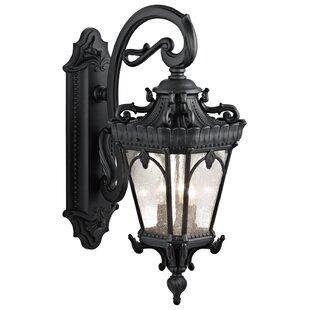 Tournai 3-Light Outdoor Wall Lantern