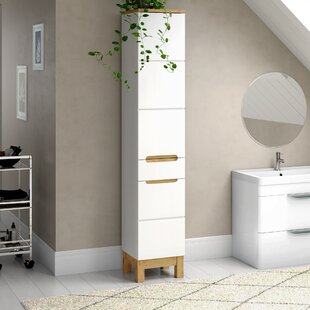 Bali 35 X 187cm Free Standing Cabinet By Belfry Bathroom