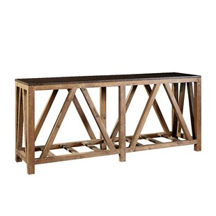 Wenner Bluestone Top Console Table By Loon Peak