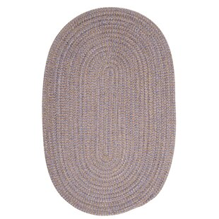 Compare prices Hale Amethyst Check Indoor/Outdoor Area Rug By Winston Porter