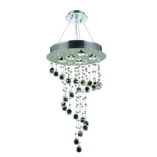 Deidamia 5-Light Cluster Pendant by Everly Quinn