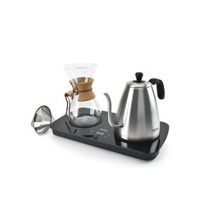 Aroma 4-Cup Housewares Professional Digital Pour Over Coffee Maker