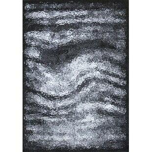 Find for Duster Hill Gray/Black Area Rug BySamnm Trade