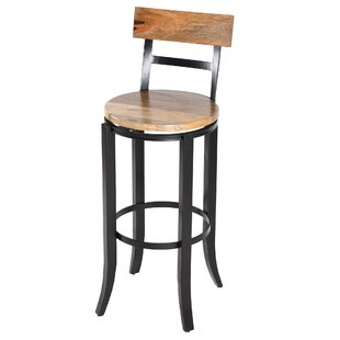 Aidan 79cm Swivel Bar Stool By Borough Wharf