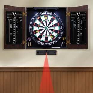 Vault Dartboard And Cabinet Set