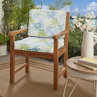 Darcio Indoor/ Indoor/Outdoor Dining Chair Cushion By Highland Dunes