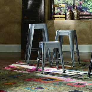 Sandefur 24 Bar Stool (Set of 4) Wrought Studio