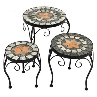 3 Pieces Nesting Plant Stand Set By World Menagerie
