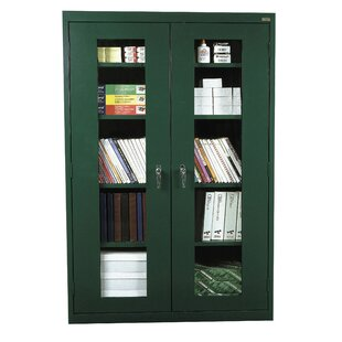 Clear View 2 Door Storage Cabinet by Sandusky Cabinets