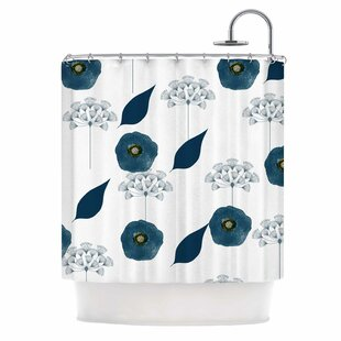 'Blue Collection - Lili' Single Shower Curtain
