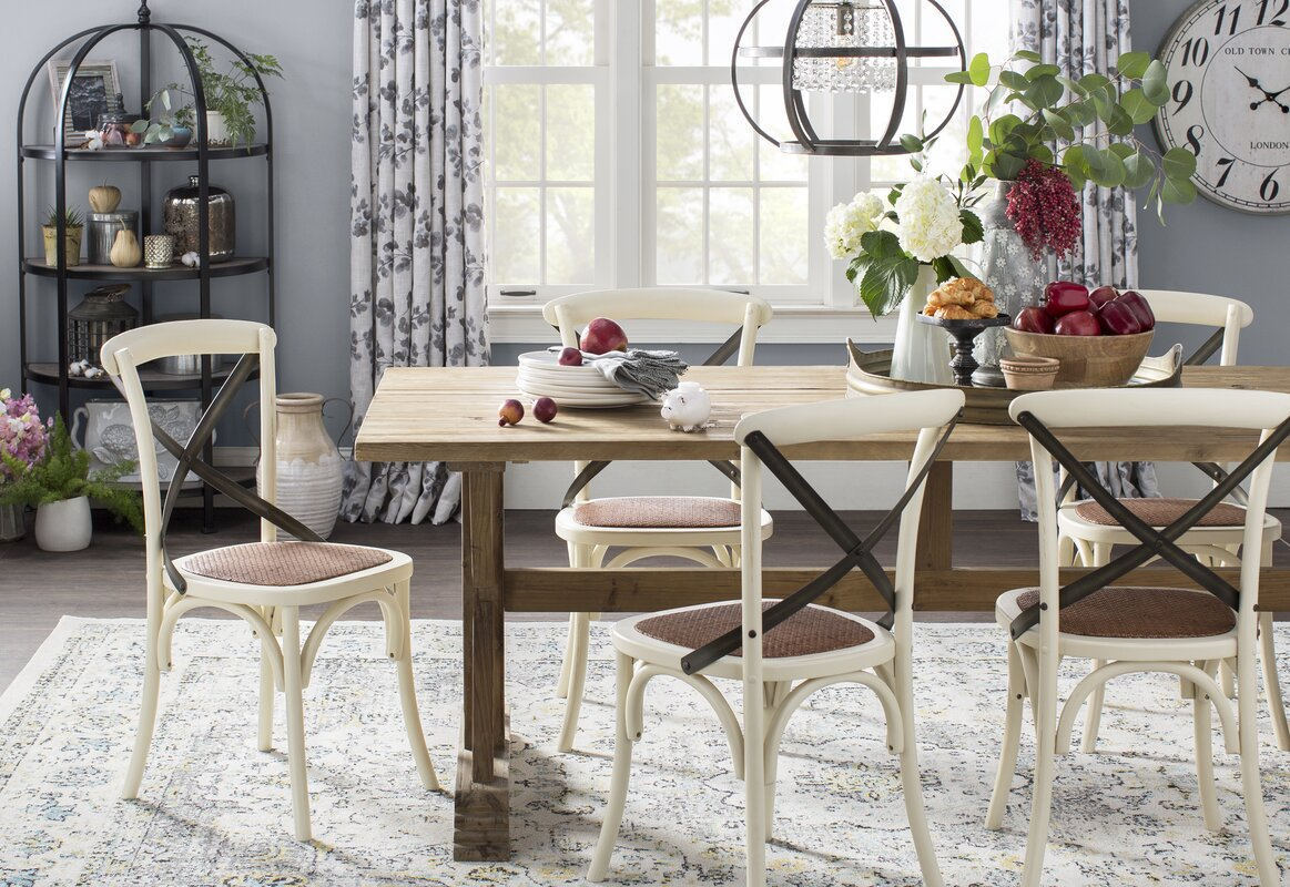 Iolite Solid Wood Dining Chair & Reviews   Joss & Main