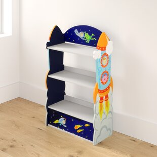 Dutcher 100.33cm Bookcase By Zoomie Kids