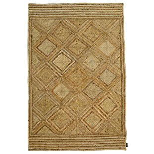 Handmade Kilim Natural Rug by Bakero