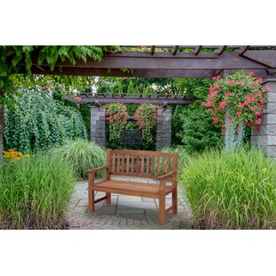 Rockland Wooden Bench By Sol 72 Outdoor