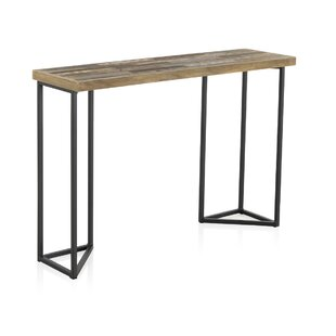 Braham Recycled Wooden Console Table By Williston Forge