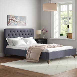 Marita Upholstered Platform Bed By Mercury Row