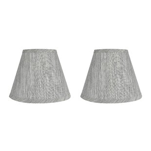 Hardback 9 Linen Empire Lamp Shade (Set of 2)