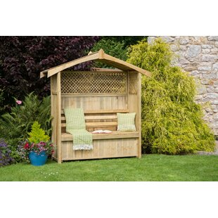 Millville Wooden Arbour By Sol 72 Outdoor