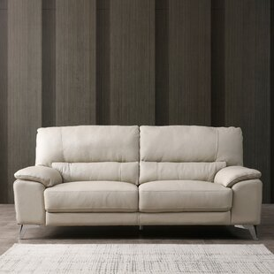 Orren Ellis Podington Leather Loveseat