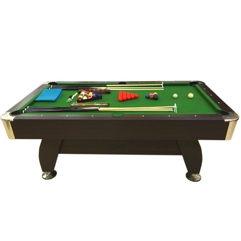7\u0027 Pool Table with Snooker Full Set Accessories  sc 1 st  Wayfair & Simba USA 7\u0027 Pool Table with Snooker Full Set Accessories   Wayfair