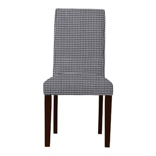 Latitude Run Beachwood Cotton Parsons Chair (Set of 2)