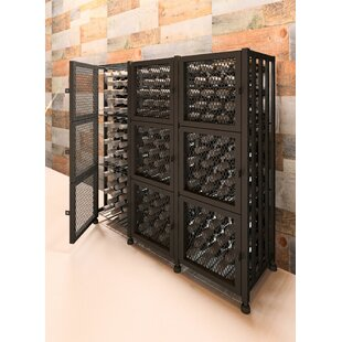 VintageView Locker 144 Bottle Floor Wine Rack