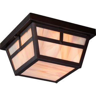 Affordable Price Raci 2-Light Flush Mount By Loon Peak