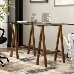 Brady Glass Writing Desk