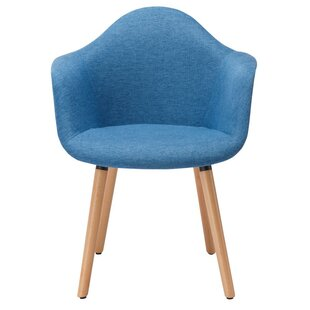 Albia Mid-Century Upholstered Dining Chair Turn on the Brights